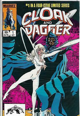 Cloak & Dagger #1 Marvel 1983 Bronze Age Comic Book VF-/VF (1st Solo Issue)