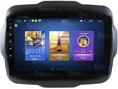 Autoradio Jeep Renegade Android Quadcore Fulltouch Wifi  Gps Bluetooth Mirror Li