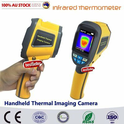 Precision Protable Thermal Imaging Camera Infrared Thermometer Imager HT-02 RT