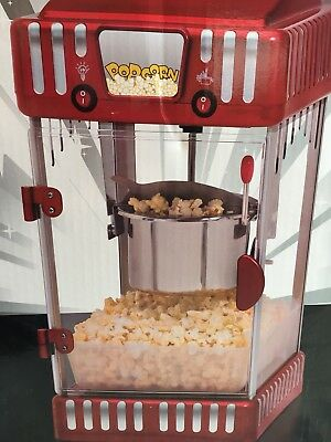 Retro Style Popcorn Machine- Never Taken Out Of Box!!! Brand New!!!