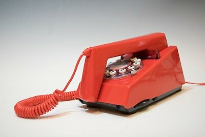 Wild and Wolf:  Trim Phone  Retro Trimphone Telephone - Box  Red (pre-owned )