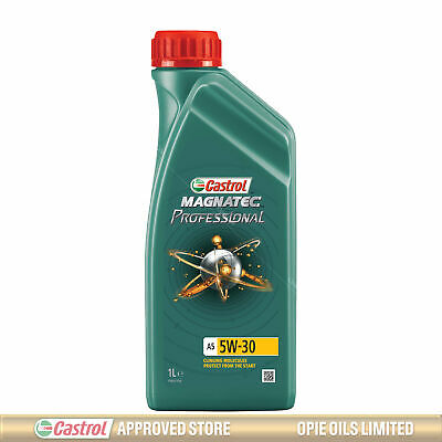 Castrol Magnatec Professional A5 5w-30 Fully Synthetic Engine Oil - 1 Litre