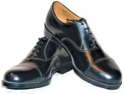 British Army Black Leather Parade Shoes - RAF - Air Cadet