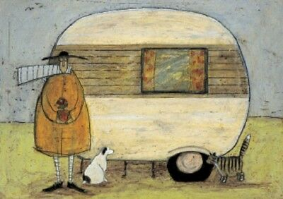 Sam toft greeting card caravan new home from home 295 picclick uk sam toft greeting card caravan new home from home m4hsunfo