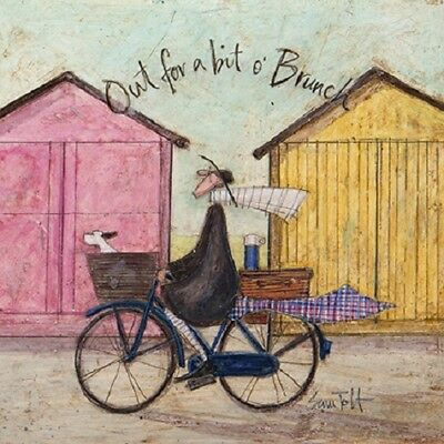 Sam toft greeting card beach huts out for brunch 295 picclick uk sam toft greeting card beach huts out for brunch m4hsunfo