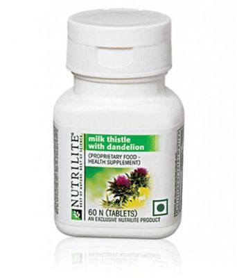 Nutrilite Milk Thistle Plus Supports Liver 60N tablets Free Shipping