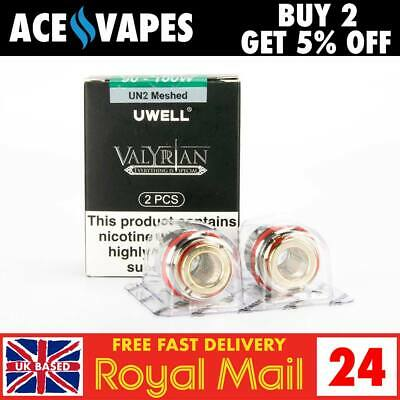 UWELL VALYRIAN COILS, A1, 0 15ohm, Genuine Replacement Coil