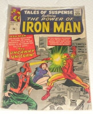 Iron Man # 56# 1966 THE UNCANNY UNICORN 1 GREART COMIC AND ONLY 99P START !