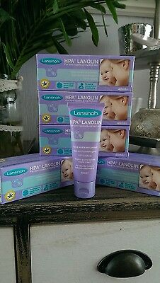 2x40ml HPA Lanolin Cream Lansinoh + free pocket size 10ml Lanolin
