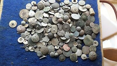 Lot Of Dug Up Buttons