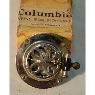 Vintage Columbia Soundbox / Gramophone Pick Up c 1930 15A With Original Box