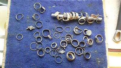 Lot Of Detecting Found Rings