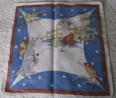 Vintage, 1950's, collectable child's handkerchief