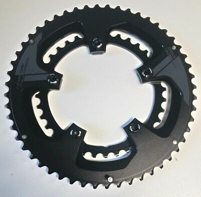 Praxis Works Buzz Road Chainrings 110BCD 52/36T Black inc Bolts (New/Unused)