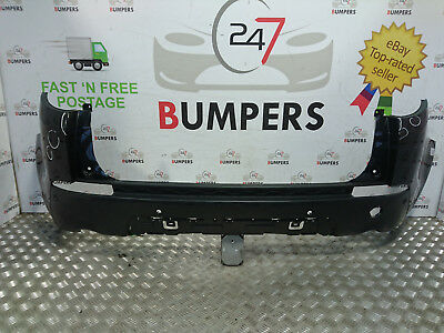 2014 - Onwards Genuine Land Rover Discovery Sport Rear Bumper P/N: Fk72-17D781-A