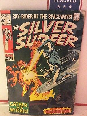 The Silver Surfer (1970) 12  Appearance Of The Abomination Stan Lee John Buscema