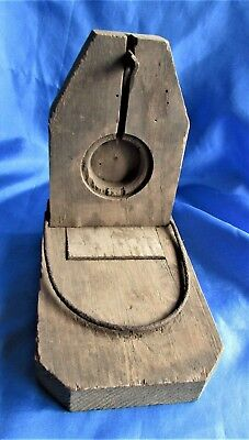Antique Primitive Wooden and Metal Mouse Trap Old Vintage Rat Rodent