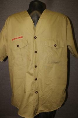 vintage BOY SCOUTS OF AMERICA Mens Large sleeved Shirt Uniform RARE official