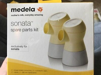 Medela Sonata Spare Parts Kit 68054  SEALED NEW IN BOX