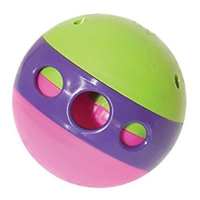 Dog Interactive Treat Dispensing Maze Ball Adjustable For Different Size Treats
