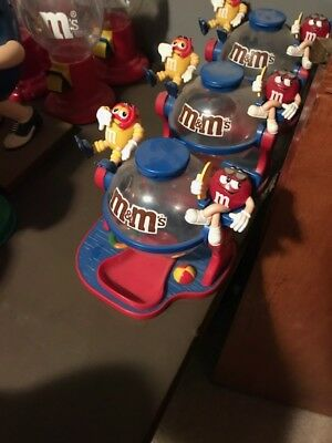 M&M's Candy Dispenser 2 Characters Globe
