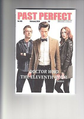 Past Perfect Monthly #149 Doctor Who Eleventh Doctor Smith Gillan Star Trek Bond
