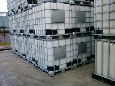 1000ltr IBC water tanks food grade STEAM CLEANED free delivery within 10miles