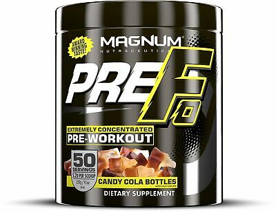 Magnum Nutraceuticals PRE-FO Powder - 50 Servings - Candy Cola Bottles -