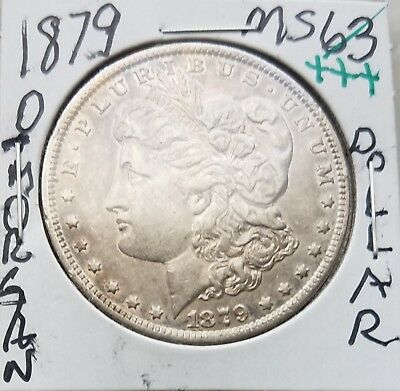 1879 O Morgan Silver Dollar Coin $Hi-Grade$Genuine Us Mint$Rare Date