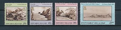 Pitcairn 291-4 MNH, Paintings by Shipley, 1987