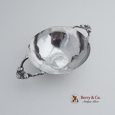 Spanish Colonial Silver Bowl Double Handles