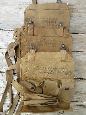 Canadian UK WW2 Bren tools cleaning Wallet Spare Parts  303 Lee enfield Airborne