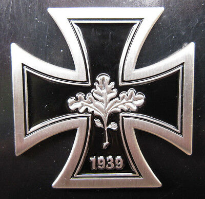 German Iron Cross 1939 Badge Medal Ww2 Wehrmacht Style Repro Third Reich