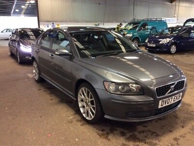 07 Volvo S40 2.0 D Sport Met Grey, Climate, Alloys, Very Clean Car 12 Services