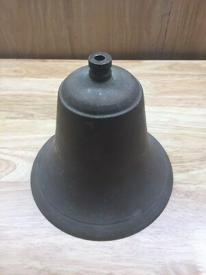 "ANTIQUE VINTAGE SOLID BRASS BELL 6"" **Free Shipping**"