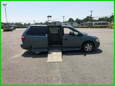 2006 Dodge Grand Caravan SXT VAN WHEELCHAIR HANDICAP DODGE CARAVAN POWER RAMP C2006 SXT Used 3.8L V6 12V