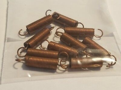 """Extension Spring 7/8"""" Long 3/16"""" Od  Hardware Products Company~Lot Of 10~ Nnb"""