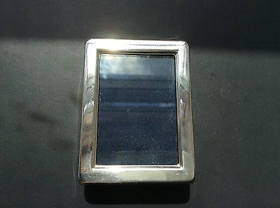 Lovely Vintage miniature solid silver photo frame HM 1988