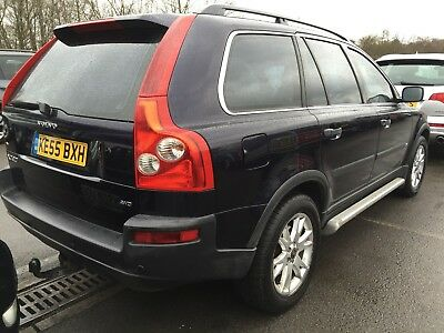 55 Volvo Xc90 2.4 D5 Se 7 Seats,leather,climate,cruise,heated Seats,13 Services