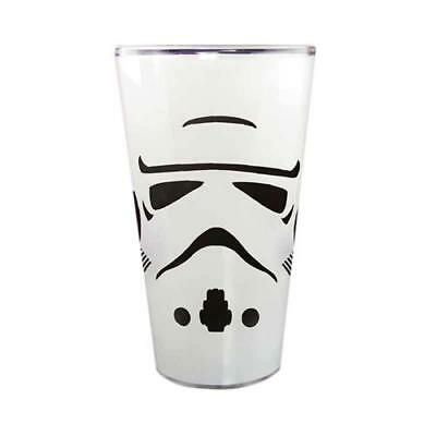 Star Wars - Stormtrooper Glass Tumbler - New & Official In Box