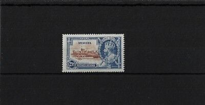 ST LUCIA SG111g 'DOT TO LEFT OF CHAPEL' VARIETY MOUNTED MINT, CAT £180