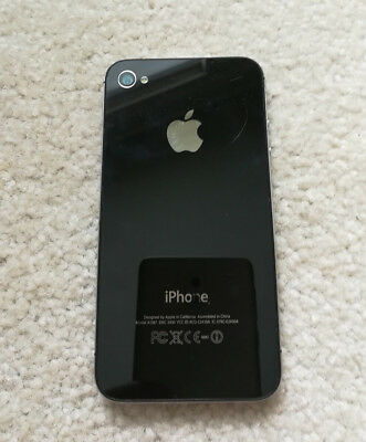 Apple iPhone model A1387 for PARTS Not working Cracked Screen