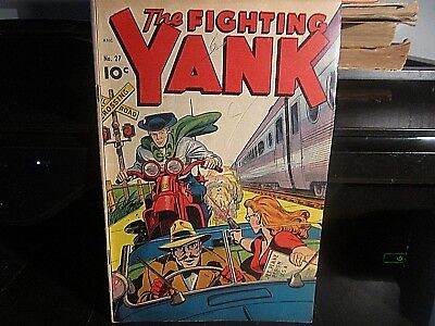 1949 No: 27 The Fighting Yank Comic Great Condition