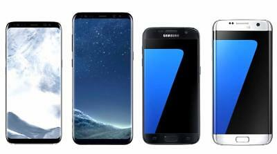 Samsung Galaxy S8 Plus, S8, S7 Edge, S7 GSM Unlocked 4G LTE Android Smartphones