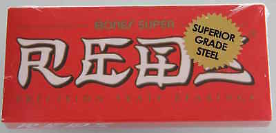 BONES SUPER REDS SKATEBOARD BEARINGS set of 8 TOP QUALITY SPEED! for complete