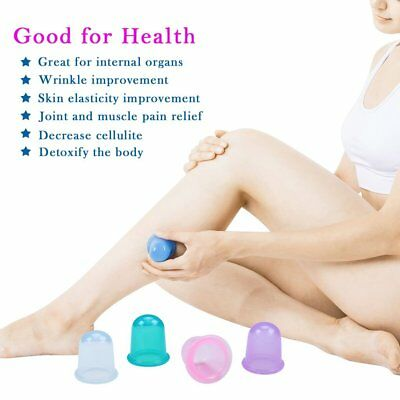 Edealing 1PCS Body Cups Anti Cellulite Vacuum Silicone Massage Cupping Cups
