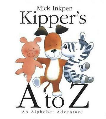 NEW Kipper's A to Z By Mick Inkpen Paperback Free Shipping