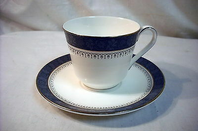 Royal Doulton Sherbrooke Cup and Saucer
