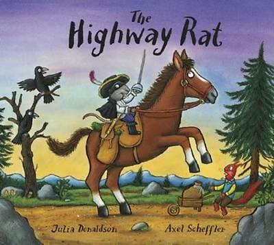 NEW The Highway Rat By Julia Donaldson Board Book Free Shipping
