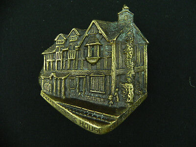 Shakespeare's House Stratford Door Knocker Vintage US Seller